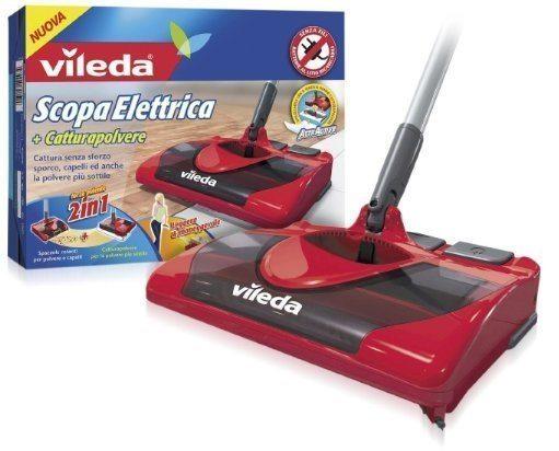 Escoba eléctrica con mopa Vileda