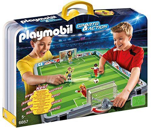 Maletín Playmobil - Set de fútbol 68570