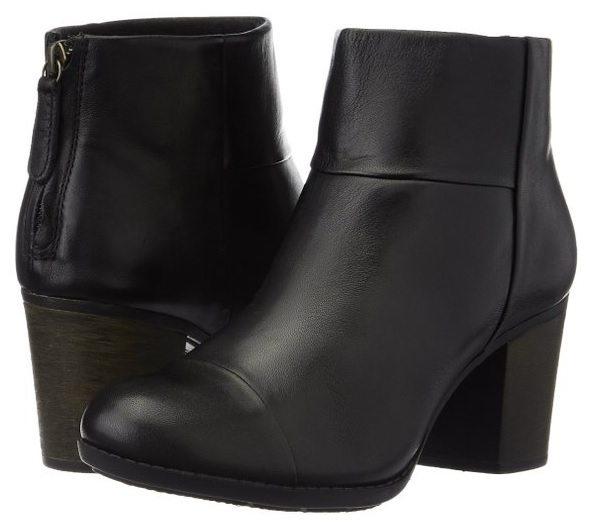 Clarks Enfield Tess - botas de cuero mujer
