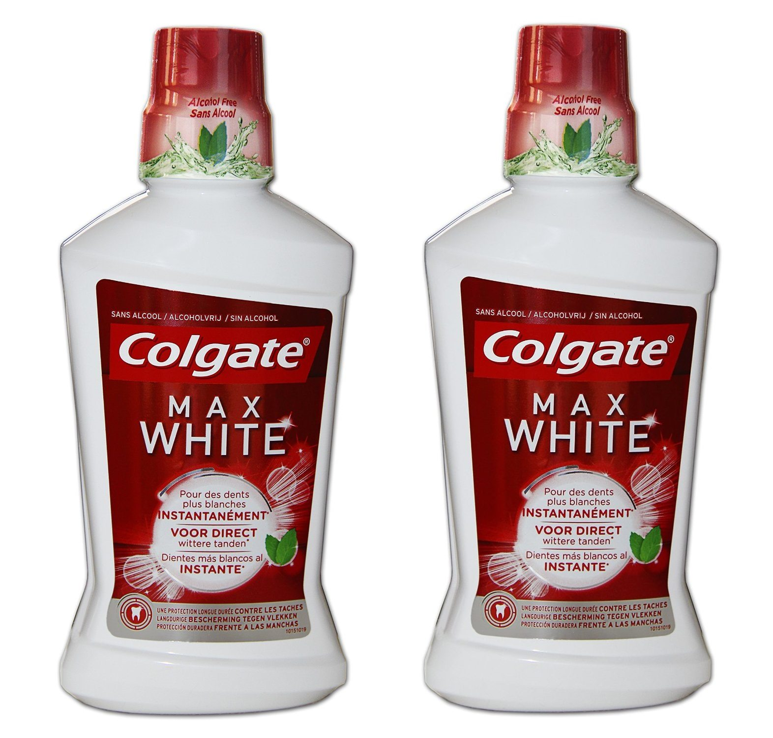 Enjuague bucal Colgate plax mwo 500 ml (Pack de 2)
