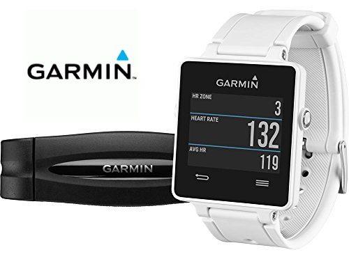 Garmin vívoactive HRM - Smartwatch con GPS y pulsómetro