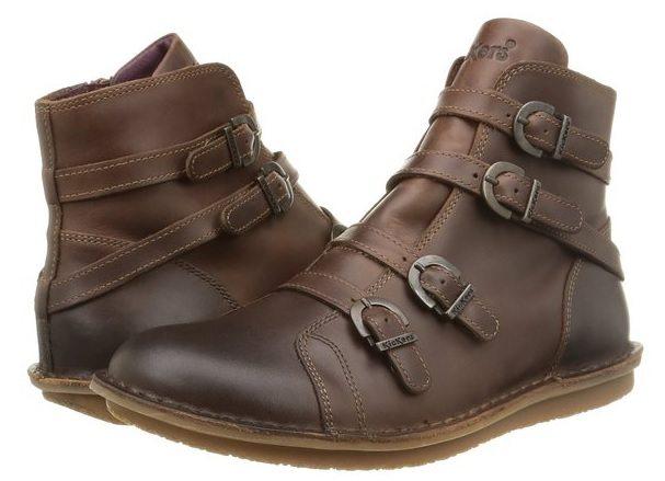 botas de cuero Kickers WAXING
