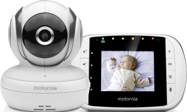 """Motorola MBP33S - Vigilabebés vídeo con pantalla a color de 2.8"""""""