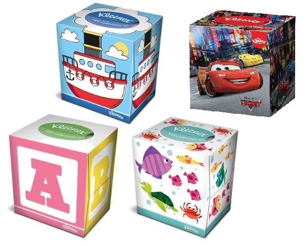 Kleenex® Collection Kids Cube