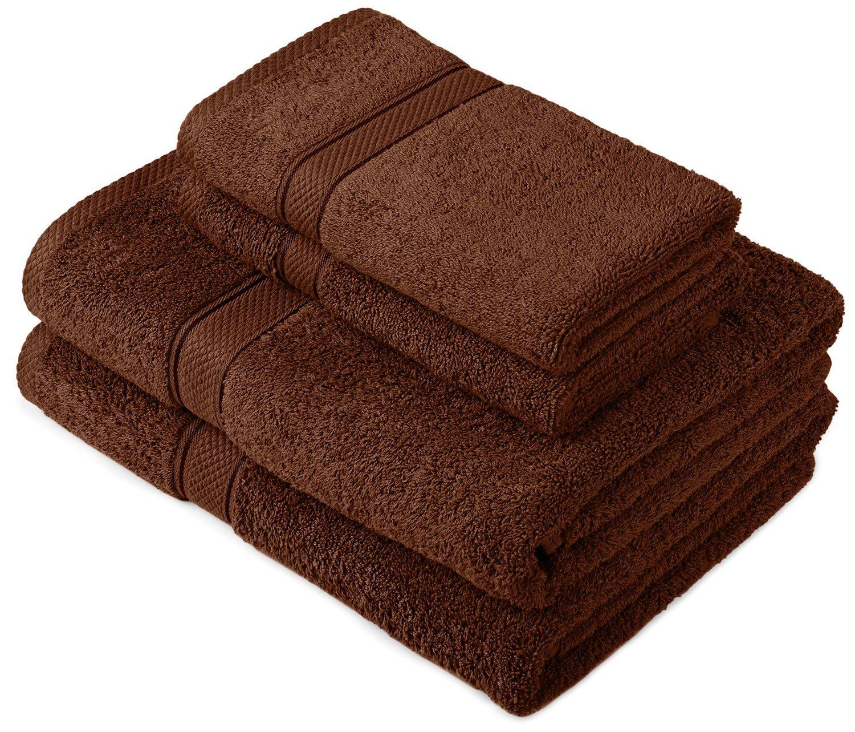 Pinzon by Amazon - Juego de toallas de algodón egipcio