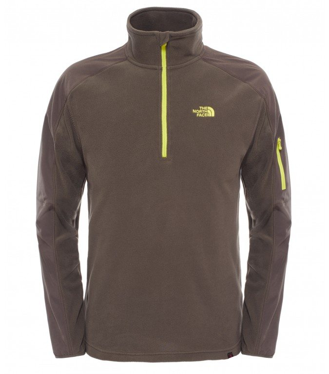 The North Face Glacier Delta 1/4 Zip Mens Fleece