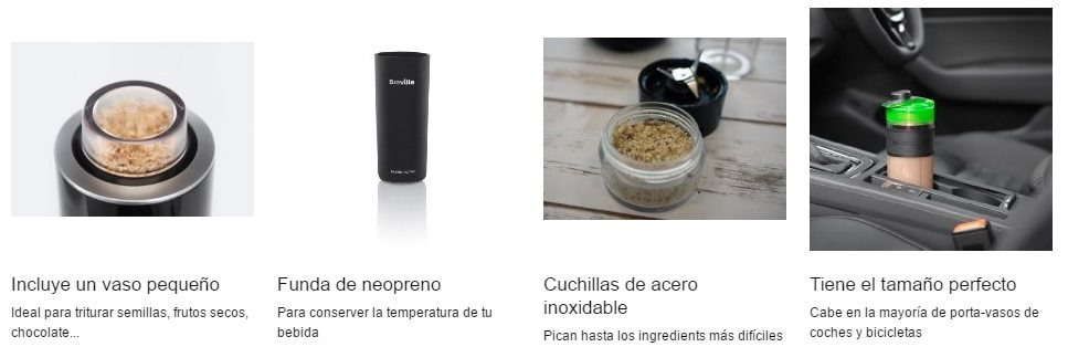 Batidora con vaso portátil Breville Blend Active Pro chollo oferta ganga detalles