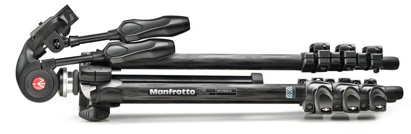 Manfrotto MK293C4-D3Q2 - Trípode completo chollo ganga oferta plegado