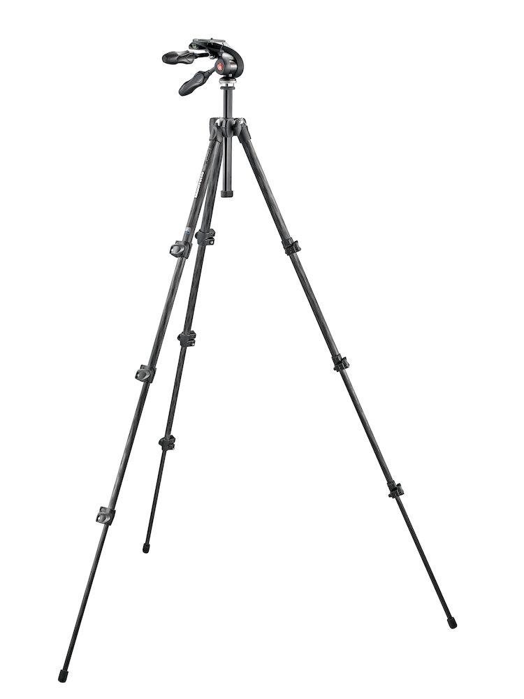 Manfrotto MK293C4-D3Q2 - Trípode completo