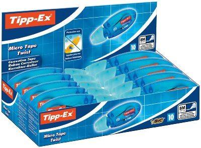 Pack de 10 Cintas correctoras marca Tipp-Ex