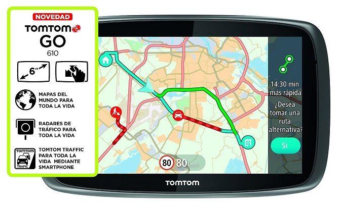 TomTom GO BT 610 World LTM