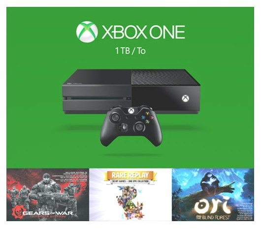 Xbox One - Consola 1 TB Holiday Bundle (3 Juegos)