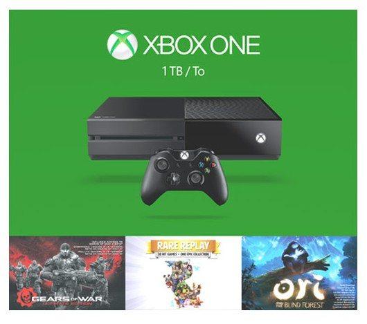 Xbox One - Consola 1 TB Holiday Bundle (3 Juegos)