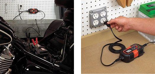 Black and Decker BDV090 Cargador De Baterias, 6-12V De Mantenimiento 3