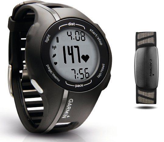 Garmin Forerunner 210 HRM - Reloj GPS con monitor de ritmo cardíaco