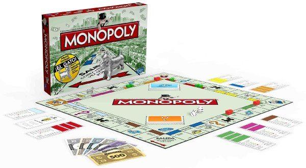 Juego de mesa Monopoly versión clásica