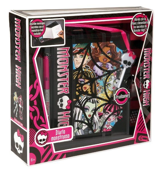 Monster High V1137 - Diario Monstruoso (Mattel)