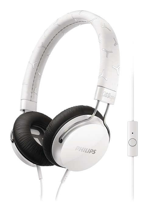Philips SHL5305WT auriculares con microfono