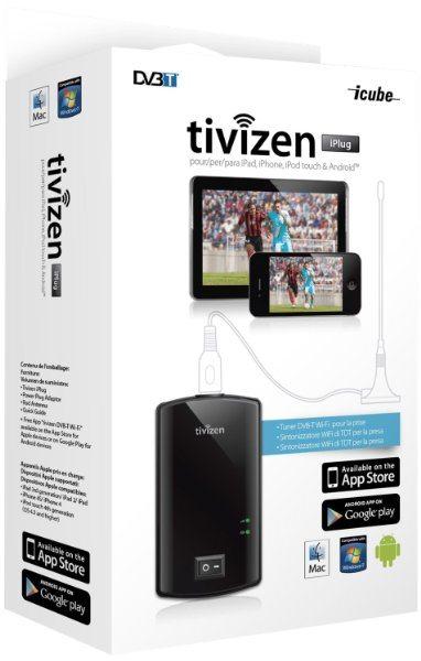 Sintonizador de televisión externo Wifi Humax Tivizen Iplug