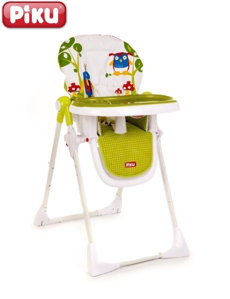 Trona para bebés Piku Twit-Twoo con bandeja regulable