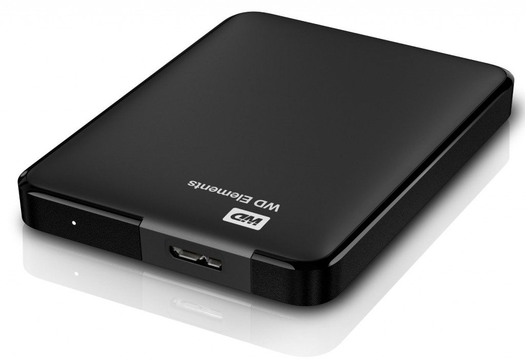 Disco duro Western digital Elements de 4 TB