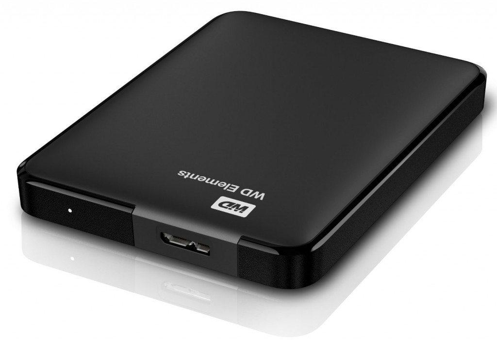 Disco duro Western digital Elements de 4 TB