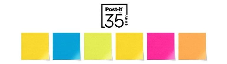 Hasta un 35% de descuento en el 35 aniversario de Post-it
