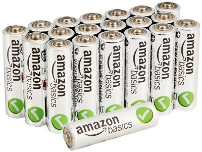 AmazonBasics Performance Alkaline Batteries