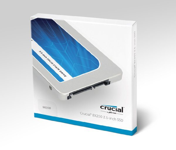 Disco duro sólido SSD Crucial BX200 9760gb