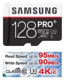Tarjeta de memoria microSD PRO+ 128Gb