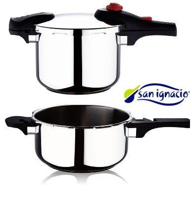 San Ignacio Rioja SG- 1501 - Set de 2 ollas a presión, 4 y 6 litros