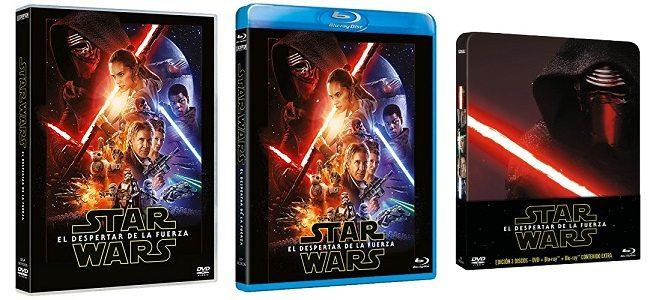 Star Wars - El despertar de la fuerza DVD