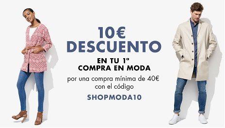 DESCUBRE AMAZON MODA - 10€ DE DESCUENTO