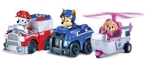 set 3 vehiculos Chase, Marshall and Skye
