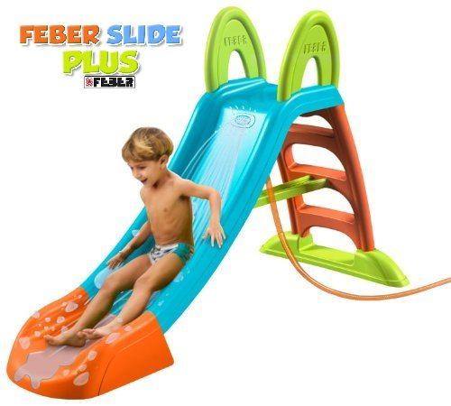 tobogán Feber Slide Plus chollo oferta verano piscina ganga