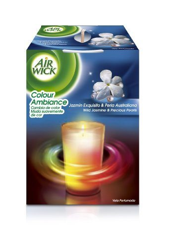 Air Wick Candle Color Jazmin - 4 Unidades
