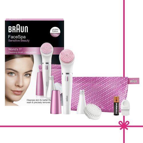 Set de regalo Braun FaceSpa Sensitive Beaty