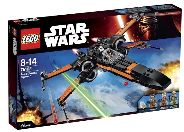 LEGO Star Wars - Set Poe's X-Wing Fighter