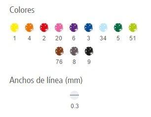 Staedtler Fineliner colores