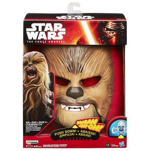 Star Wars - Máscara electrónica de Chewbacca
