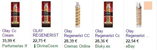 precios olay