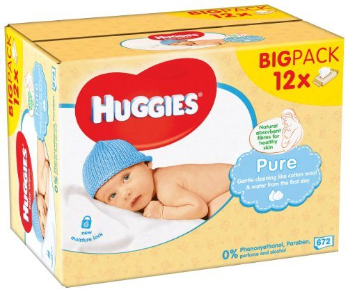 Huggies Toallitas para bebe big pack
