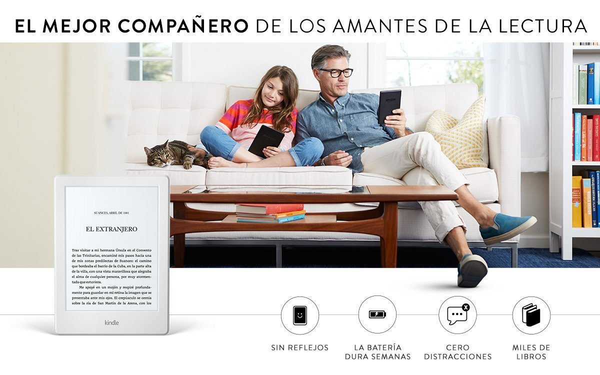 Nuevo Ereader Kindle de Amazon