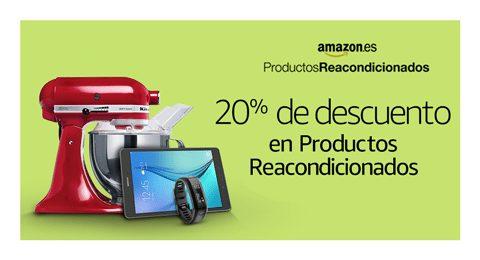 20% de descuento en productos reacondicionados