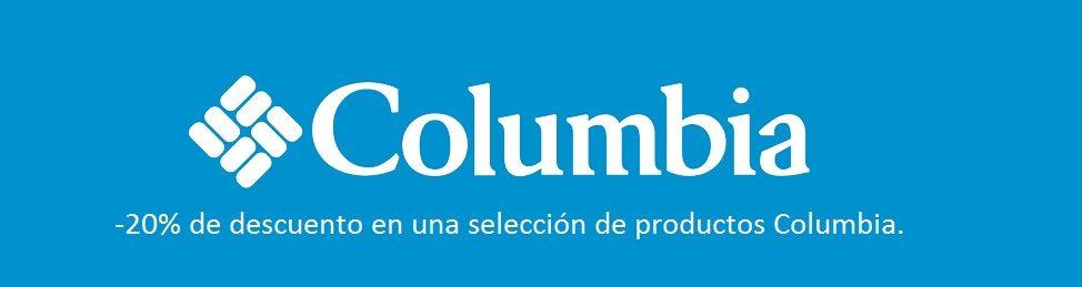 -20% de descuento en una selección de productos Columbia