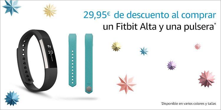 29,95€ de descuento al comprar un pack de pulsera Fitbit Alta y accesorio clásico