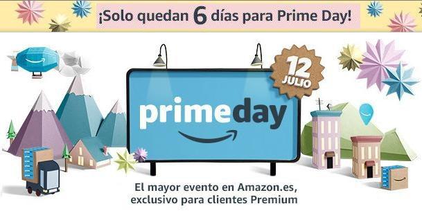 ¡Solo quedan 6 días para el Prime Day!