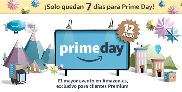 ¡Solo quedan 7 días para el Prime Day!