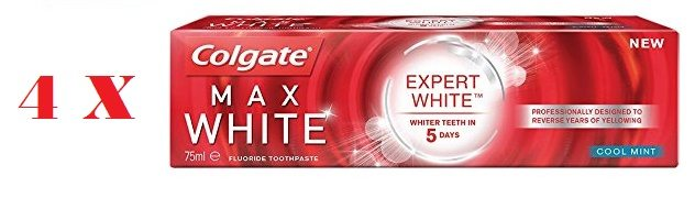 Colgate Max White Expert - Pack de 4 x 75 ml