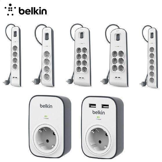 Hasta 30% de descuento en la gama Surge de Belkin